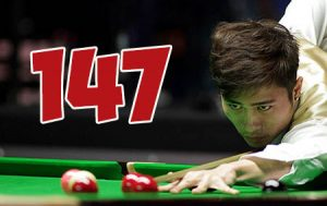 Cao Yupeng 147 MAXIMUM BREAK