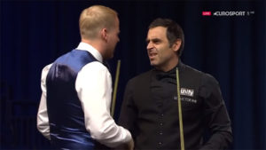 Ronnie O'Sullivan 15th 147 Maximum vs AlanTaylor 2018 English Open